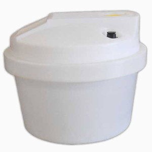 Aquarius Tank 30 Gallon White Peabody Engineering