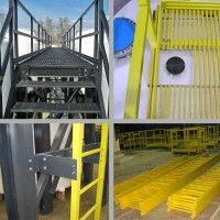 Fiberglass Ladder and Handrail Systems