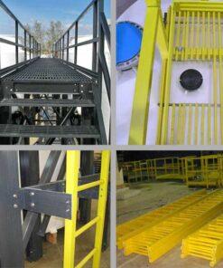 Fiberglass Ladder and Handrail Systems