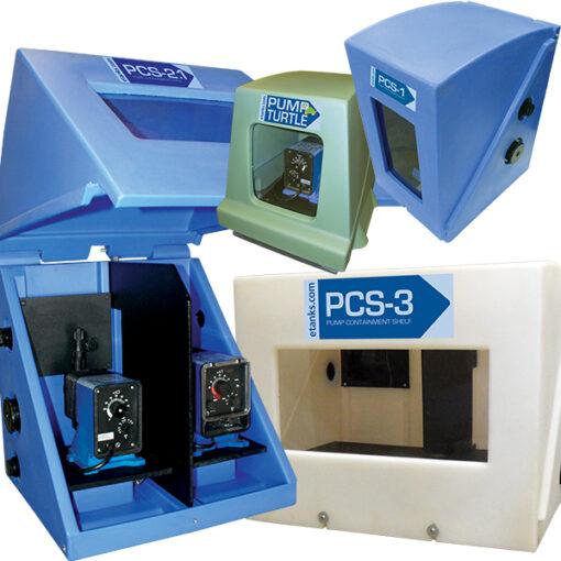 Assorted Pump Containment Enclosures