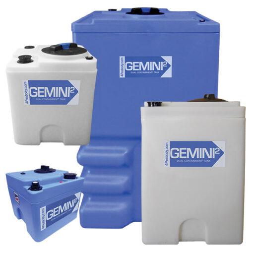 Gemini² Dual Containment® Tanks