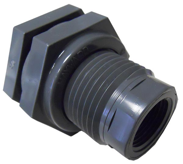 Bulkhead fittings pvc peabody engineering product