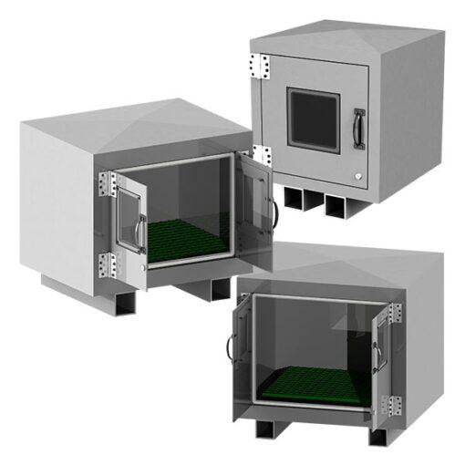 PCS-PRO Fiberglass Pump and Equipment Enclosures