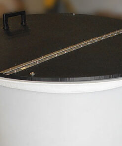 Bolted SST Hinged Lid for Cone Bottom Tanks - TD Series