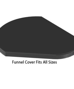 ProChem Funnel Cover Black Fits All Sizes