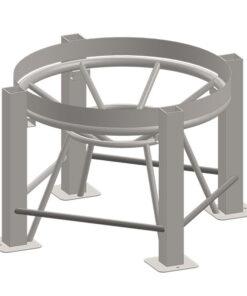 Stand for 200 Gallon ProChem® Cone Bottom Tank