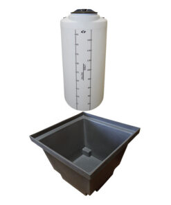 ProChem® Tank 50 Gallon with Basin 60 gallon size