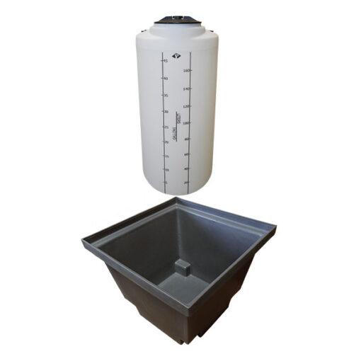 ProChem® Tank 50 Gallon with Basin 60 gallon size