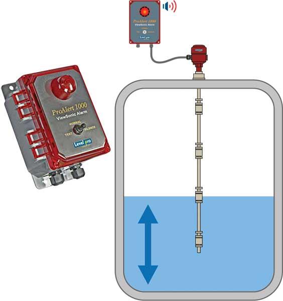 PA 1000 ProAlert Audible and Visual Alarm