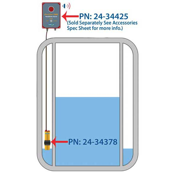 Leak Detection Sensor Capacitance Style