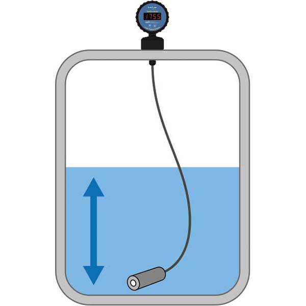 Pressure Level Sensor with Display
