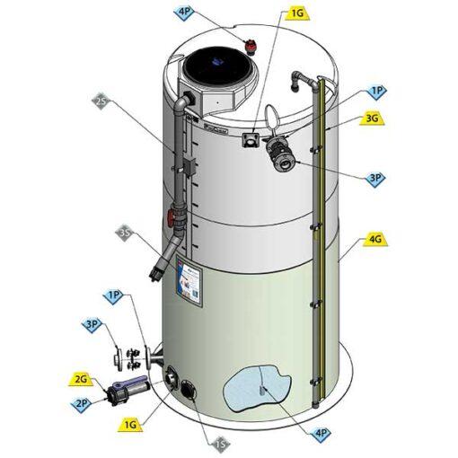 Value-Pak ProChem® Process Chemical Large Tanks