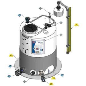 Value-Pak ProChem® Process Chemical Small Tanks