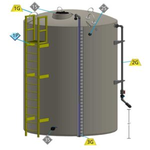 Value-Pak Single Wall Tank Showing All Features